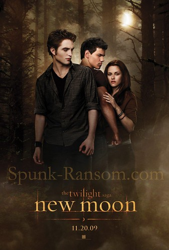 Official New Moon Poster [HQ] by slowdownsugar.