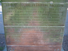 Middlesbrough Bolkow Bust, Albert Park