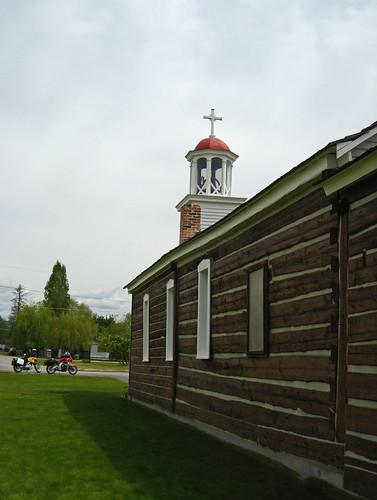 St. Marys Mission - Circa 1840s -  Stevensville Montana