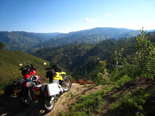 Breathtaking vista on the Ponderosa Pine Scenic Byway