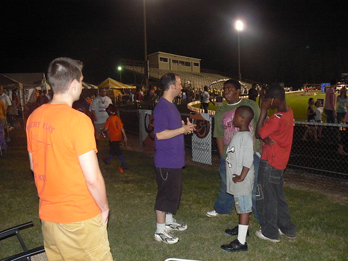 Relay for Life - ZJ Watches Ryan Teach the Kids About Cancer