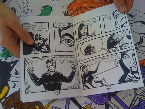 liz and rex - rick lucey's 24 hour comic thing challenge!