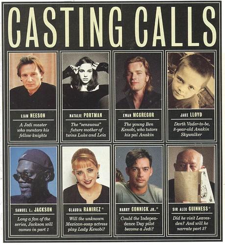 Casting Rumors