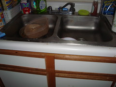 Dishes are mostly done