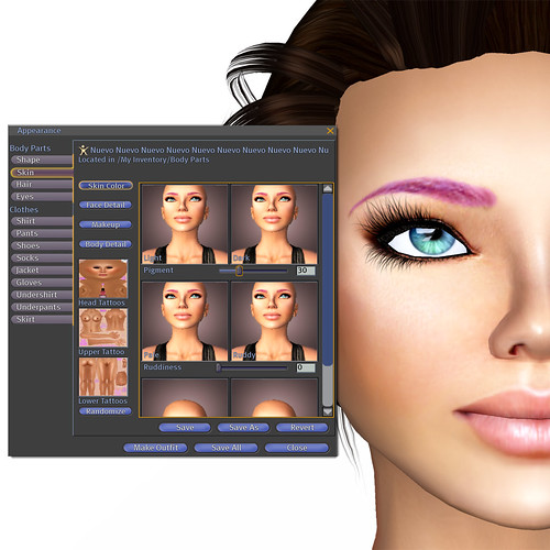 Tutorial - Skin Color Tab