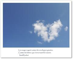 Les nuages...