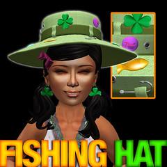 Ultrarare: Lucky Shamrock Fishing Hat