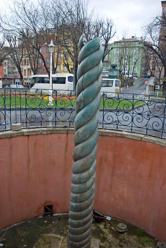 The Serpent Column, Sultanahmet square, İstanbul, Pentax K10d