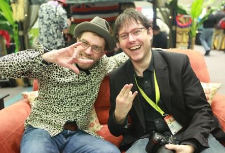 Dave Olson & David Crow - SXSW 2009, Austin TX