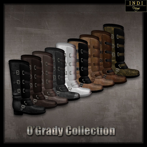 O'Grady Boots - all colours