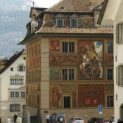 Schwyz: Rathaus