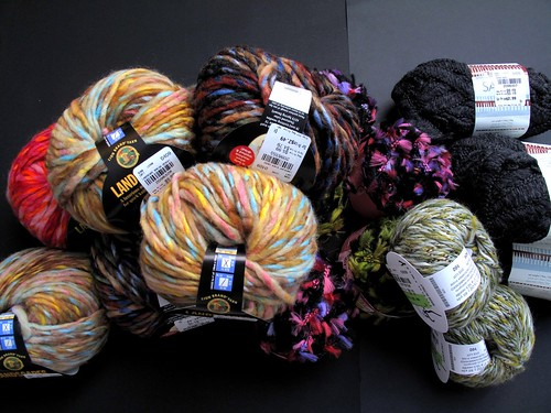 Yarns from Tuesday Morning