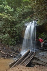 Tom at Wright Creek Falls