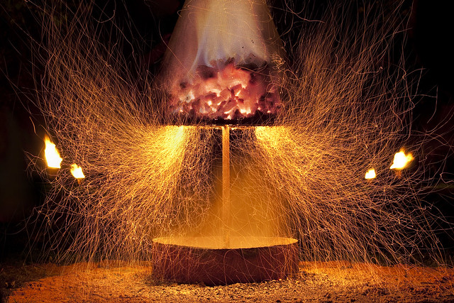 Exploding lamp?