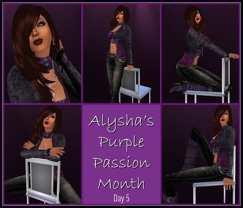 BLOG:  Aly's Purple Passion Month - Day 5