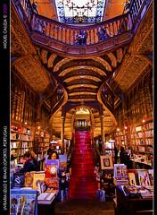Livraria Lello E Irmao(Opporto) World's 3rd most beautiful bookstore