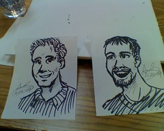 Caricatures for the dudes