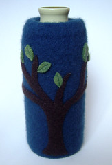 blue tree cover