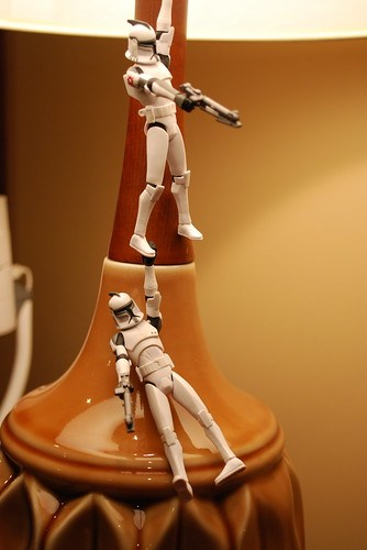 Storm Troopers or Clone Troopers. Whatever.
