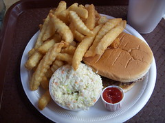 Chili Cheeseburger Plate
