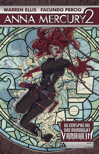 Anna Mercury 2: Ultraspacial Dreadnought Vanaheim #1 by Avatar Press.