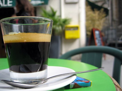 Coffee in Lyon.