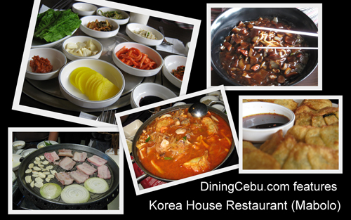 cebu restaurant serving korean food