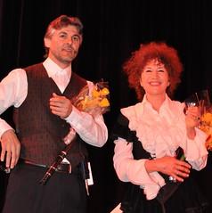 Теодосий Спасов и Татяна Сърбинска - отново заедно на сцената една година по-късно, този път в САЩ, а идеята се родила в България на съвместен концерт