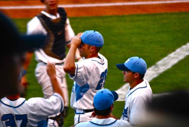 acc baseball tournament: duke vs. unc