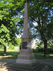 Middlesbrough, South African War Memorial, Albert Park