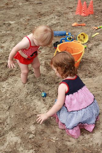 Burying Feet in the sand