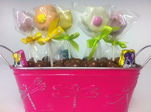 Cake Pop Easter Basket