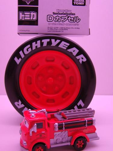 tomica set red