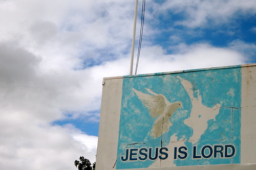 Jesus is Lord (HOLY HELL, HOW BIG IS THAT BIRD!)