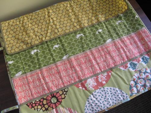 Knitting needle roll   THORNBERRY