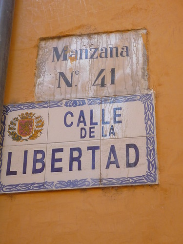 Street names in Zaragoza
