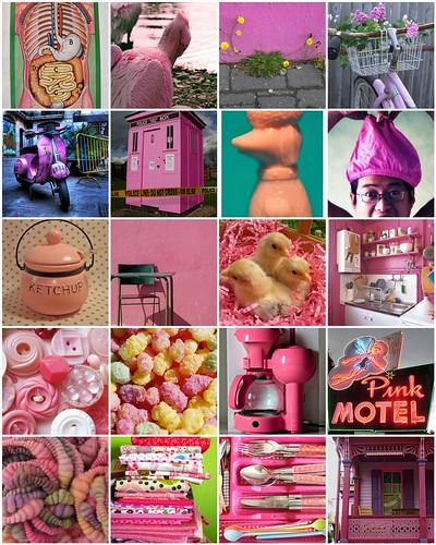 Pink = :-)