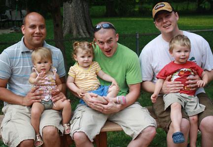 Nick & Sisarea, Ronnie & Skyler, Jay & Caiden