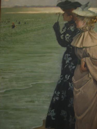 Ernest-Ange Duez...Lheure du bain au bord de la mer (Bath time at the seaside) แอบเหมือนรูปตัดแปะดี