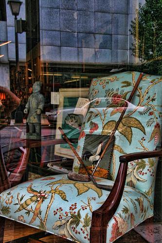 Through the Window #29—The Golf Widows Chair