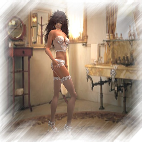 Angel Dessous. Angel of the Month. May Rikes Paris Dreams by Shi Streeter by Shi Studio.