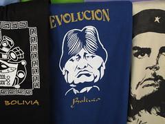 T-shirt politique bolivien