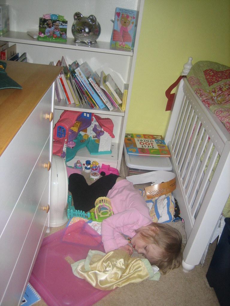 She still claims she didn't nap!