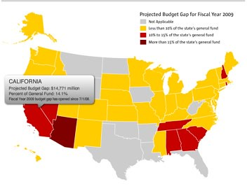 USA budget Map by you.
