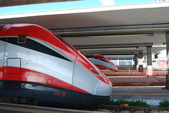 Frecciarossa at Napoli Centrale