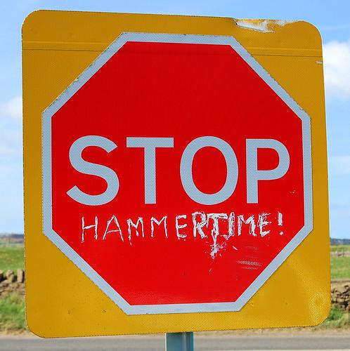 Stop! Hammertime!!