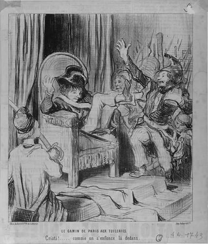 Daumier's 'Gamin de Paris aux Tuileries'