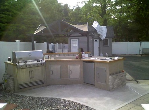 Backyard Kitchen