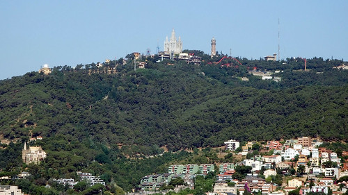 Vista desde el Parque Güell