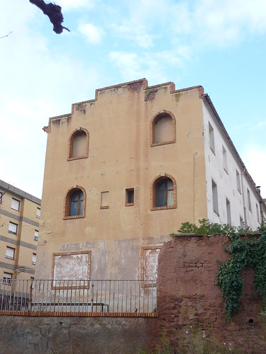 Spanish old factory building